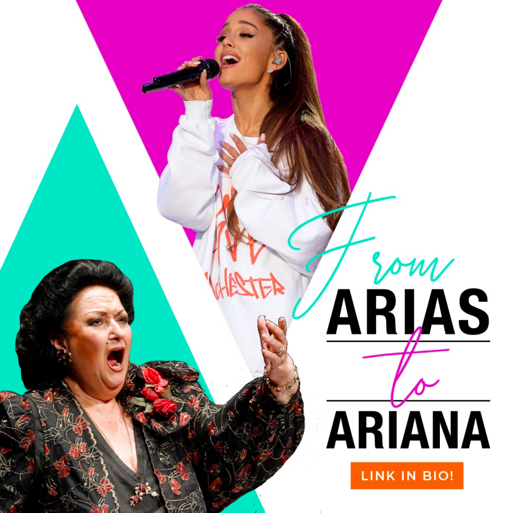 from Arias to Ariana